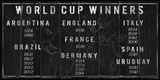 World Cup Winners Giclee Print by  The Vintage Collection