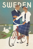Travel in Style III Giclee Print by  The Vintage Collection
