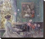 Improvisation, 1899 Reproduction transférée sur toile par Childe Hassam