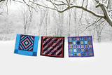 Winter Quilts Giclee Print by Bill Coleman