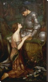 Lamia Stretched Canvas Print by John William Waterhouse