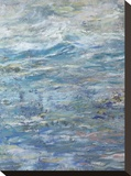 Calm Water Stretched Canvas Print by Amy Donaldson