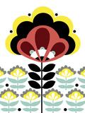 Nordic Flowers V Giclee Print by Laure Girardin-Vissian