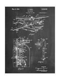 Helicopter Patent Prints