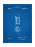 Salt And Pepper Shaker Patent Giclee Print
