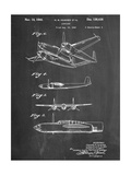 Howard Hughes Airplane Patent Prints