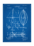 Steampunk Aerial Vessel 1893 Patent Prints