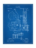 Vintage Alarm Clock Patent 1885 Posters