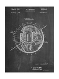 Space Station Satellite Patent Giclee Print