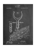 Boat And Oar Patent Arte