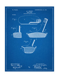 Golf Club Putter Patent Giclee Print