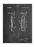 Paper Clip Patent Poster