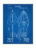 Hockey Skate Patent Affiche