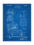 Vintage Bathing Suit Patent 1940 Poster