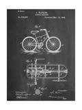 Bicycle Gearing Patent Giclee Print