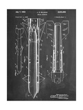 Aerial Missile Patent 1948 Giclee Print