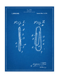 Paper Clip Patent Print