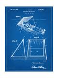 Beach Umbrella Patent 1929 Print