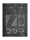 Tennis Hopper Patent Posters