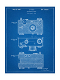 Fassin Photographic Camera Patent Poster