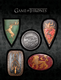 Game of Thrones - Shield Magnet Set Magnet