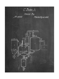 Milk Pasteurization Patent 1856 Posters