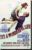 It's a Wonderful Life Stretched Canvas Print
