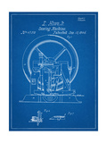 Sewing Machine Patent 1846 Giclee Print