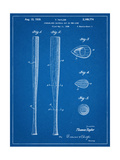 Baseball Bat Patent 1938 Prints