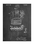 Baseball Glove Patent 1937 Plakater