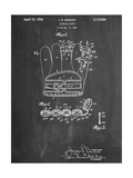 Baseball Glove Patent 1937 Poster