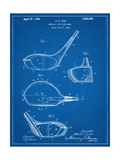 Golf Club Driver Patent Prints