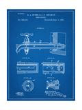 Vintage Beer Tap Patent Giclee Print