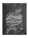 Aircraft Rocket Patent Prints