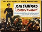 Johnny Guitar Stretched Canvas Print