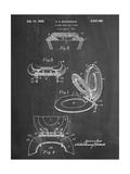 Toilet Seat Patent Giclee Print