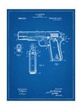 Colt 45 Patent 1911 Posters