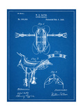 Horse Riding Saddle Patent Prints