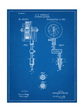 Tattoing Machine Patent 1891 Prints