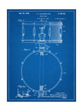 Snare Drum Instrument Patent Prints