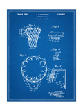 Basketball Goal Patent 1936 Prints