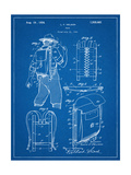 Hiking And Camping Backpack Patent Print