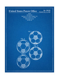 Soccer Ball Patent Prints