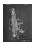 M-16 Rifle Patent Giclee Print