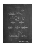 Early Snowboard Patent Pôsters