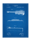 Acoustic Guitar Patent Prints