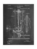 Windmill Patent Print