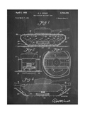 Self Digging Military Tank Patent Print