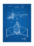 Sikorsky Helicopter Patent Poster