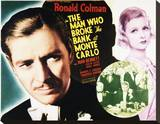 The Man Who Broke the Bank at Monte Carlo Stretched Canvas Print